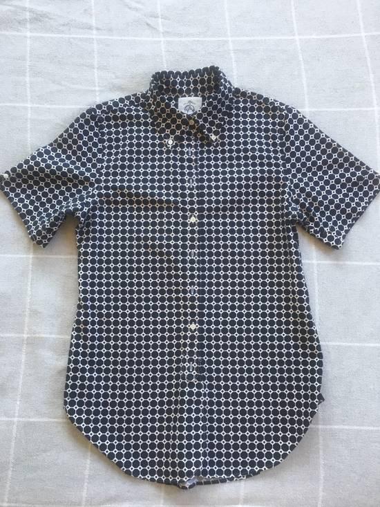 Thom Browne Brooks Brother Black Fleece Shirt Size US S / EU 44-46 / 1