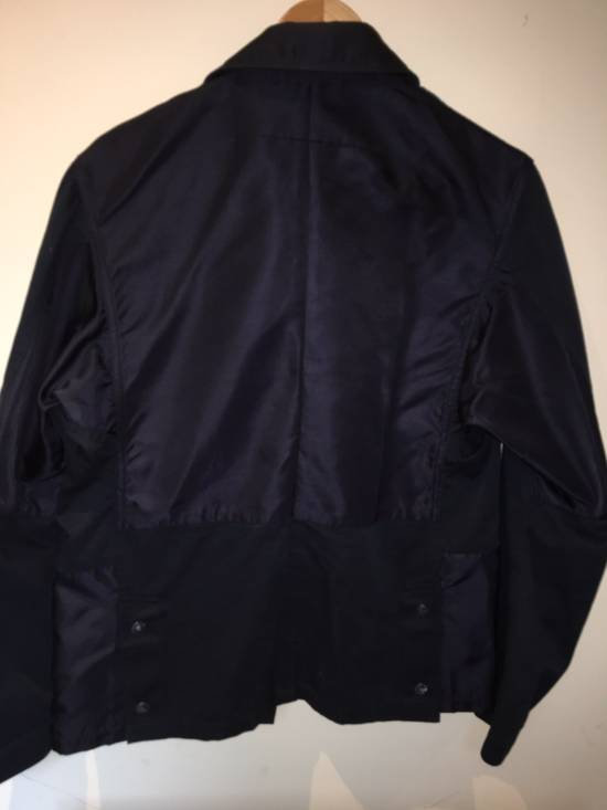 Givenchy Rare Two Tone Navy Blue Givenchy Jacket Size US S / EU 44-46 / 1 - 6