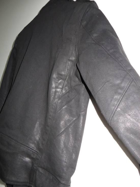Balmain Waxed denim perfecto biker jacket Size US M / EU 48-50 / 2 - 9