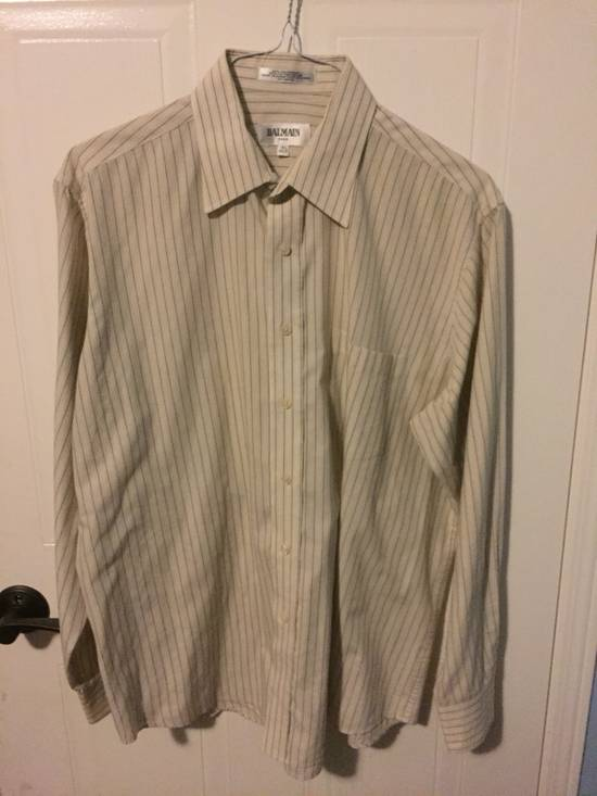 Balmain Balmain Button Up Shirt Size US M / EU 48-50 / 2