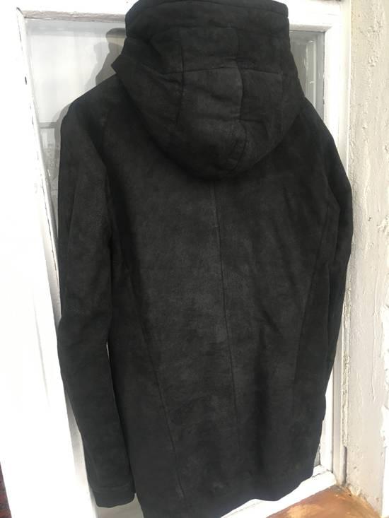 Julius Julius leather hood jacket Size US M / EU 48-50 / 2 - 5