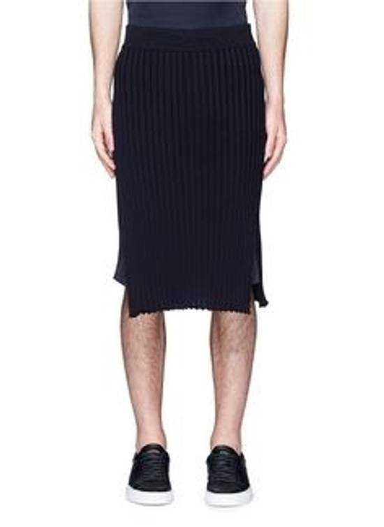 Givenchy Ribbed Cotton Skirt Size US 33 - 1