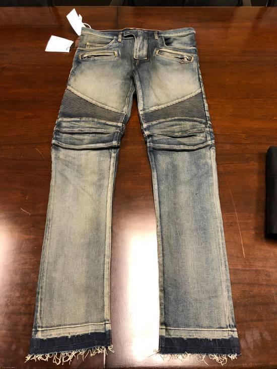 Balmain Balmain Bikers Jeans Size US 32 / EU 48 - 2