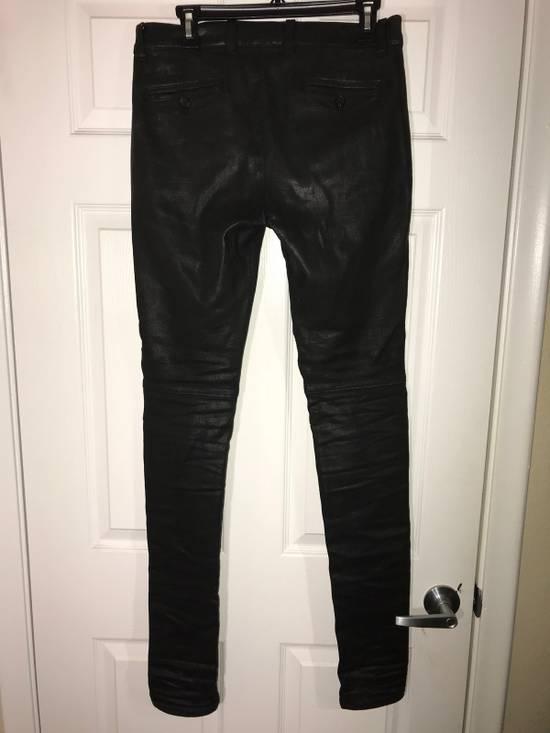 Balmain Skinny Fit Coated Denim Size US 29 - 3