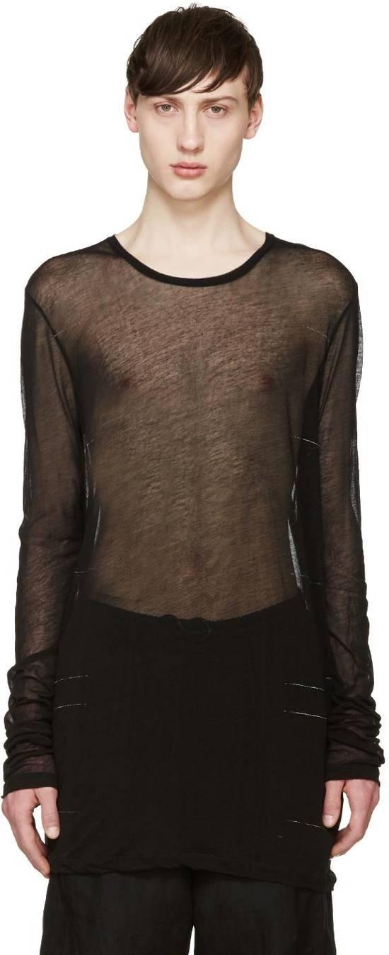 Julius SS16 sheer cotton long sleeve Size US S / EU 44-46 / 1
