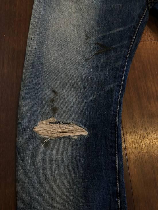 Balmain Distressed Jeans Blue Size US 31 - 17