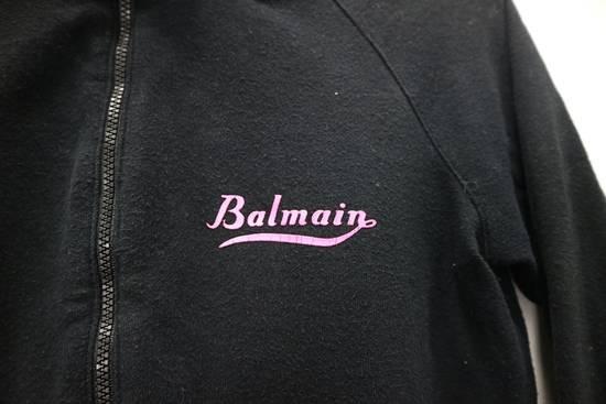 Balmain Vintage Balmain Paris Sweatshirts Zip Up Black Color Small Logo Spellout size 38 Size US S / EU 44-46 / 1 - 1