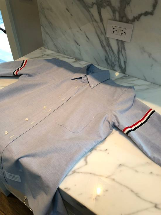 Thom Browne Thom Browne Armband Shirt Blue Size 3 Size US L / EU 52-54 / 3 - 1