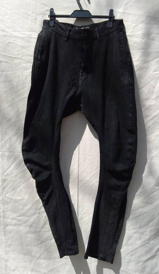 Julius Black Knit Denim Jeans f/w12 Size US 30 / EU 46