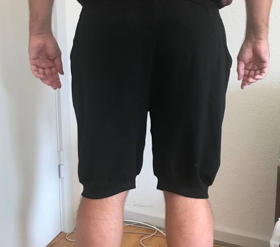 Julius black Hikho Julius shorts with loose pockets and asymmetrick details Size US 32 / EU 48 - 6