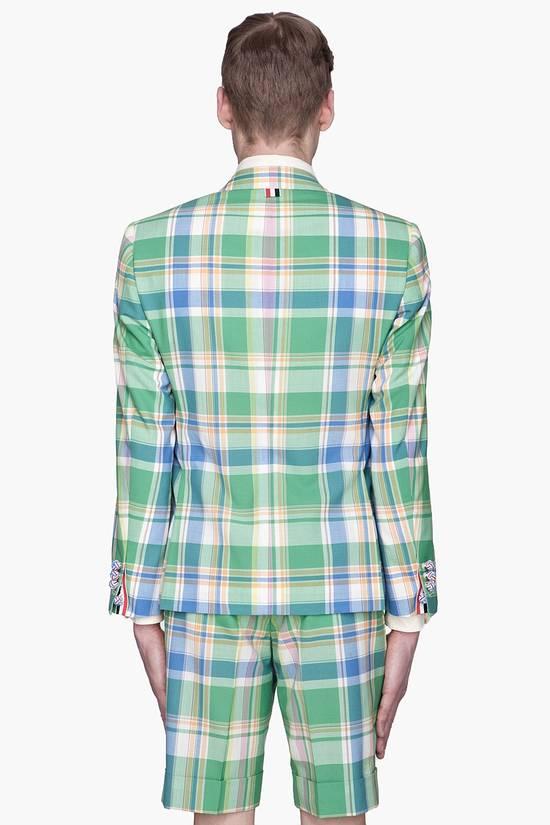 Thom Browne 13ss madras runway blazer Size 50S - 5