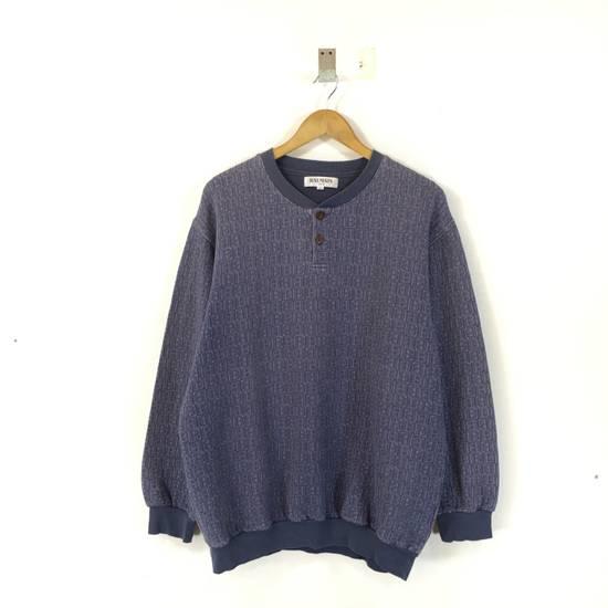 Balmain ( Last Drop ) Vintage 90s BALMAIN Sweatshirt Full Logo Blue Pullover Jumper Size Large Size US L / EU 52-54 / 3