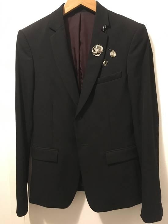 Balmain SS11 Crest/Pin Blazer Size 36R