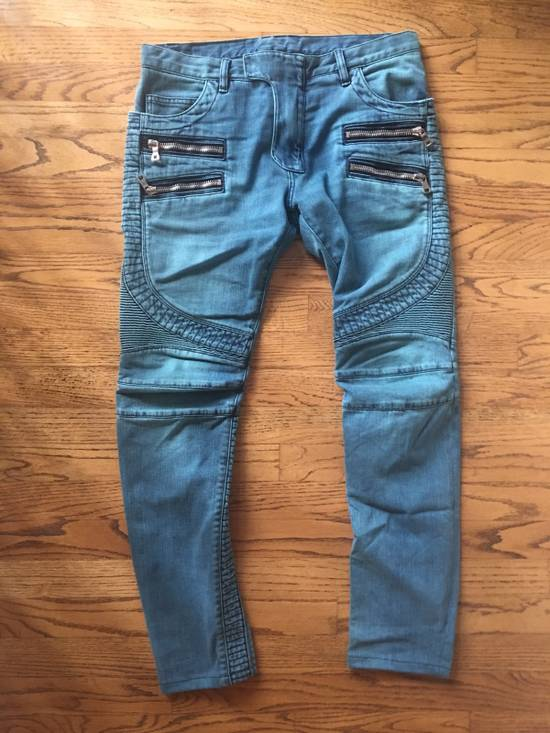 Balmain Biker Jeans Size US 31 - 4