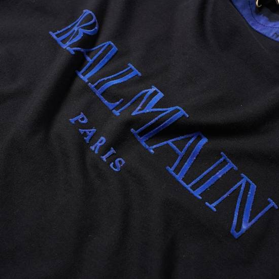 Balmain LAST DROP Balmain Paris Black and Blue Hoodie Size US S / EU 44-46 / 1 - 3
