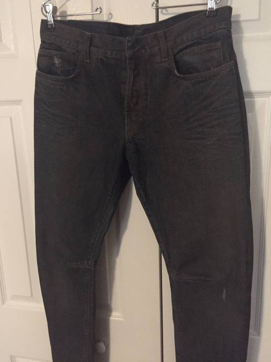 Balmain $1050 Decarnin Oil-wash Denim Size US 32 / EU 48 - 1