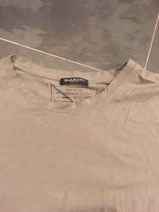 "Balmain Balmain Homme ss 2010 ""Distressed"" Decarnin Era T-Shirt Size US M / EU 48-50 / 2 - 1"