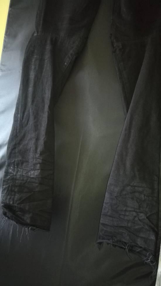 Julius 2010SS Distress Destroyed Coated Denim Slim Biker Jeans Size US 34 / EU 50 - 7
