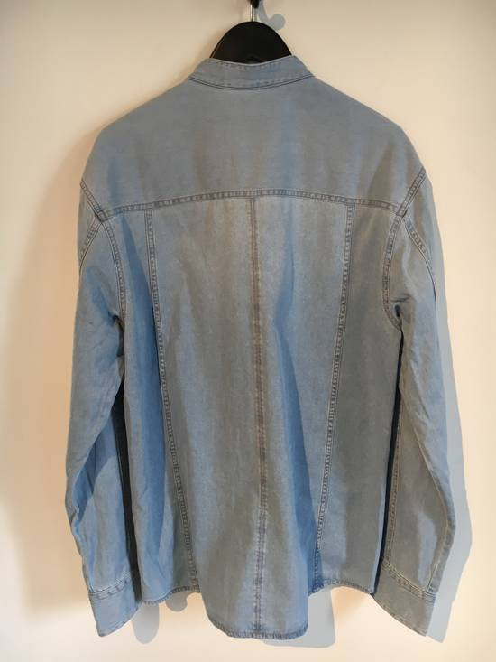 Balmain Balmain Mao Collar Denim Shirt Size US XXL / EU 58 / 5 - 3