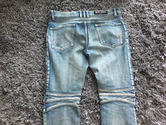 Balmain Skinny Washed Damaged Jeans Size US 31 - 2