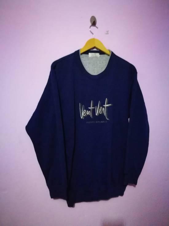 Balmain Embroidered Vent Vent by Pierre Balmain sweatshirt Size US M / EU 48-50 / 2 - 1