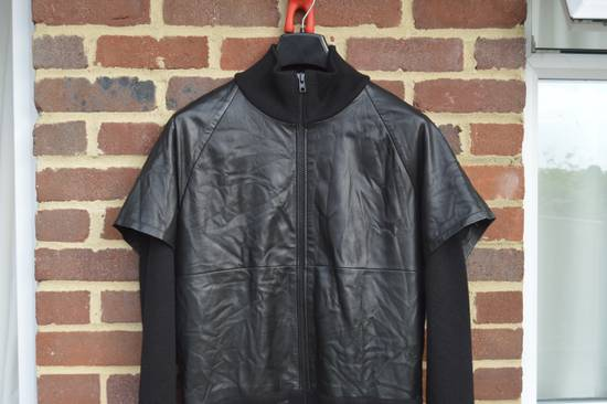 Givenchy Leather and Wool Zipped Jacket Size US M / EU 48-50 / 2 - 2