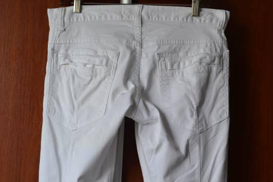 Balmain white biker pant Size US 32 / EU 48 - 4