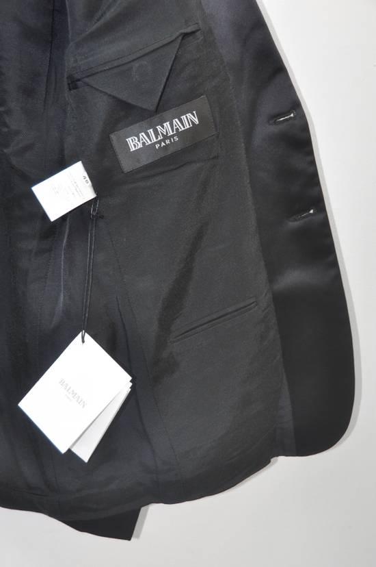 Balmain Balmain silk collar dinner blazer Size 48S - 3