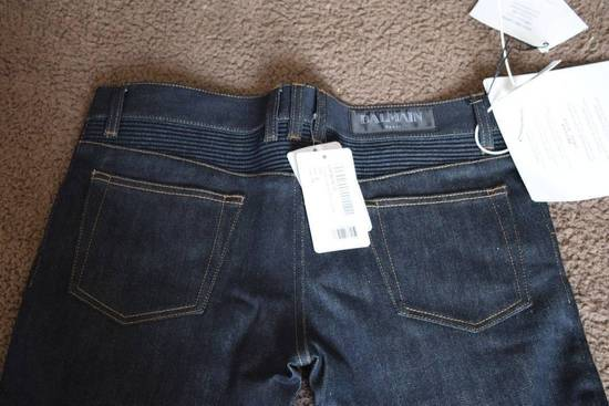 Balmain Balmain Authentic $990 Navy Biker Jeans Size 31 Skinny Fit Brand New With Tags Size US 31 - 4