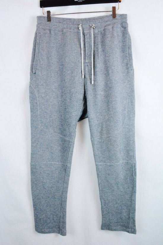 Balmain rey Biker Sweatpants Joggers Pants Drawstring Drop Crotch Medium Size US 32 / EU 48