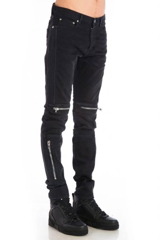 Givenchy Zip Detail Jeans (Size - 34) Size US 34 / EU 50 - 1