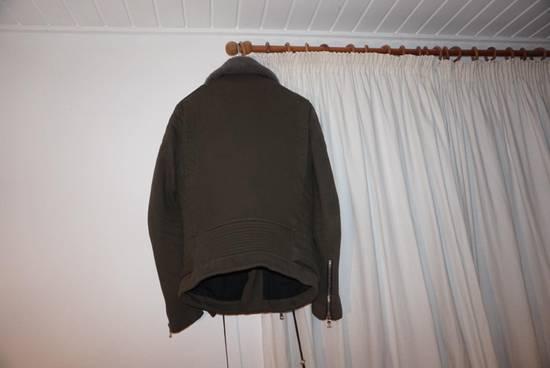 Balmain Balmain Kaki Green Shephard Coat Size US M / EU 48-50 / 2 - 2