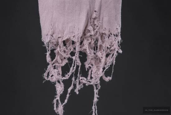 Julius = last drop = destroyed cotton/silk rib tee 2010 mid summer Size US S / EU 44-46 / 1 - 2