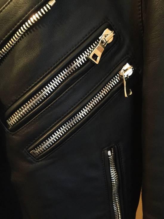 Balmain Balmain Leather biker jacket Size US S / EU 44-46 / 1 - 2