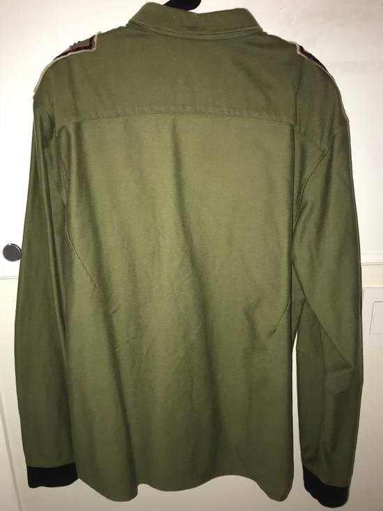 Balmain Balmain Army Green Long Sleeve T/Sweatshirt Size US S / EU 44-46 / 1 - 1