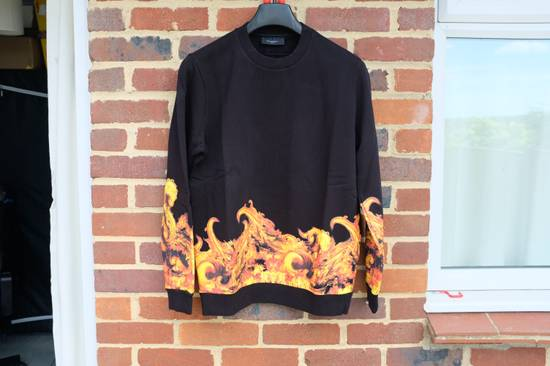 Givenchy Flame Print Sweater Size US L / EU 52-54 / 3