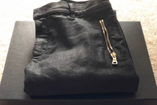 Balmain Japanese Biker Denim Trousers Size US 30 / EU 46 - 1