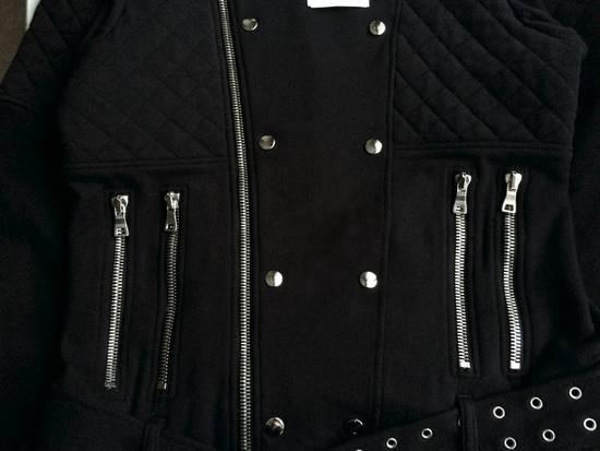 Balmain Balmain Black Quilted Biker Jacket Size US M / EU 48-50 / 2 - 4