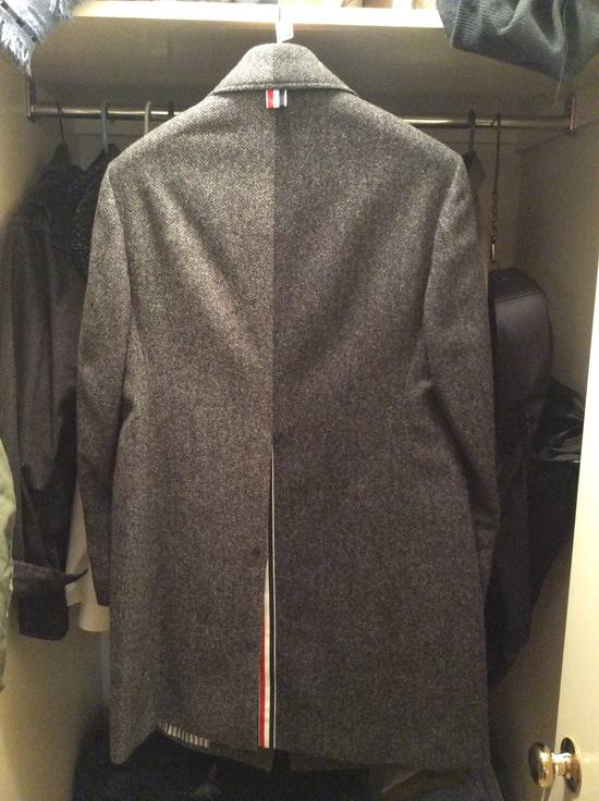 Thom Browne Ball Collar Herringbone FunMix Size US M / EU 48-50 / 2 - 4