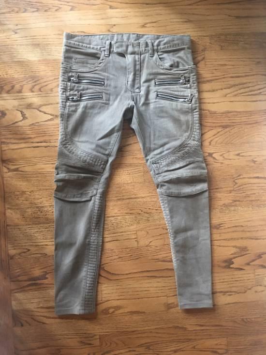 Balmain Biker Jeans Size US 32 / EU 48 - 4