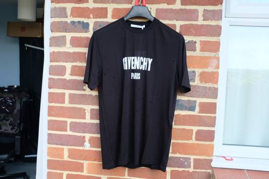 Givenchy Distressed Logo T-shirt Size US M / EU 48-50 / 2