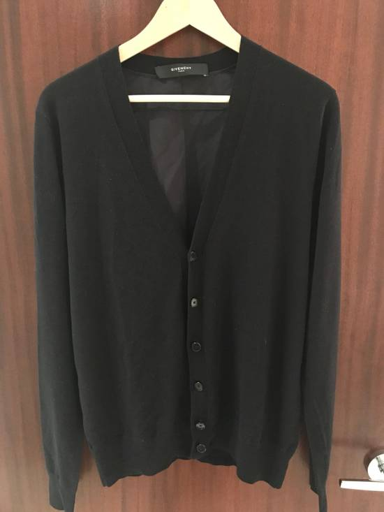 Givenchy Perfect Condition navy Blue Slim cardigan. Silk And Cotton. Size US M / EU 48-50 / 2