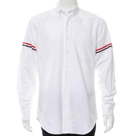 Thom Browne Brand New Thom Browne Oxford Armband Shirt Size US L / EU 52-54 / 3