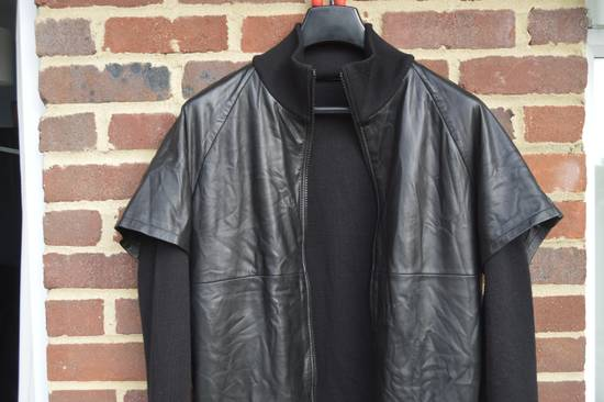 Givenchy Leather and Wool Zipped Jacket Size US M / EU 48-50 / 2 - 1