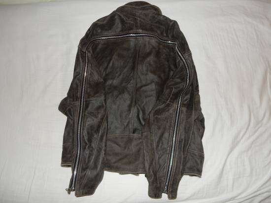 Julius Julius _ 7 oversized Biker Leather Jacket Size US L / EU 52-54 / 3 - 4
