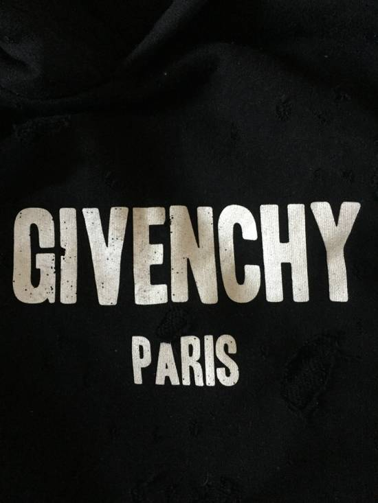 Givenchy Distressed Hoodie Size US M / EU 48-50 / 2 - 1