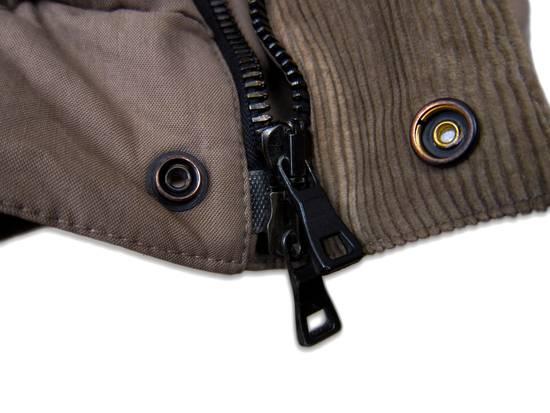 Balmain AW11 Khaki Military Down Jacket sz. 44 Size US XS / EU 42 / 0 - 8
