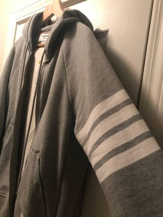 Thom Browne Classic Grey Zip Up Hoodie Size US L / EU 52-54 / 3 - 9