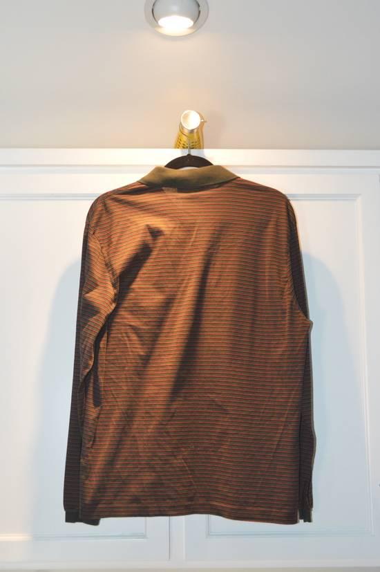Givenchy Striped Quarter Button-Up Polo Size US XS / EU 42 / 0 - 1