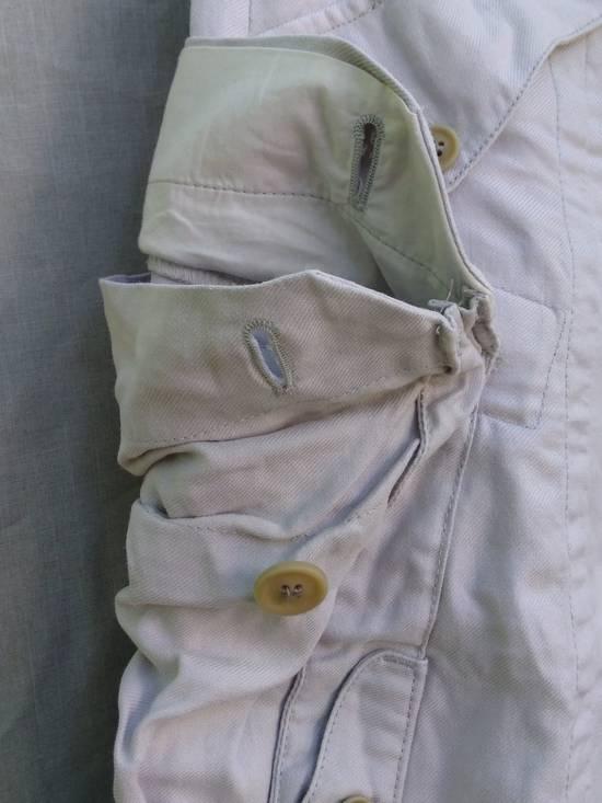 Julius Gas Mask Cargo Shorts White Bamboo Twill ss12 Size US 30 / EU 46 - 2